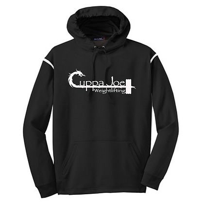 Cuppa Joe Unisex Colorblock Hoodie (White Logo)