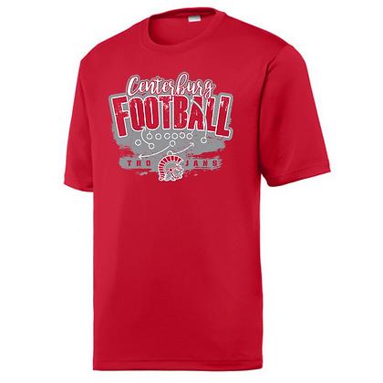 Centerburg Trojans Logo 2 Unisex Sport-Tek T-Shirt