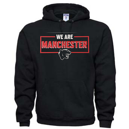 Manchester Panthers General Logo #18 Unisex Hoodie