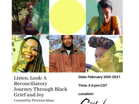 Listen, Look: February 20, 2021 3:00-5:00pm