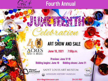 Excited to be one of many artists showcasing art for this Juneteenth Celebration!!!