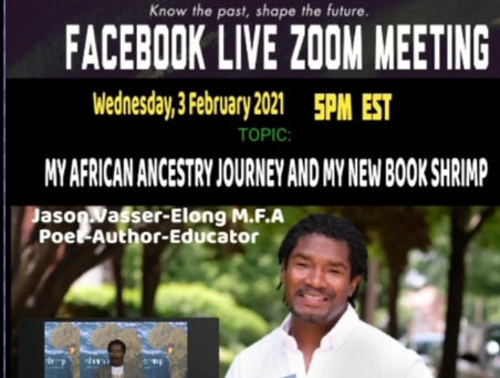 Enjoyed discussing my African Ancestry Journey!!!