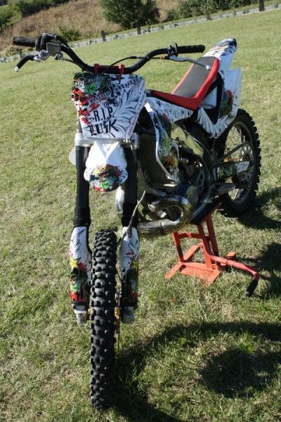 Kit déco perso motocross 250 CR