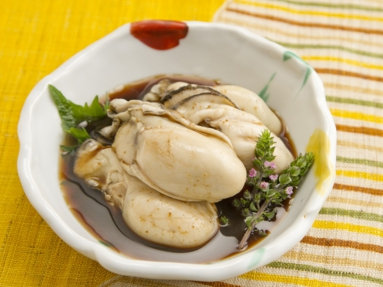 Steamed Oyster 広島産蒸し牡蠣 特上