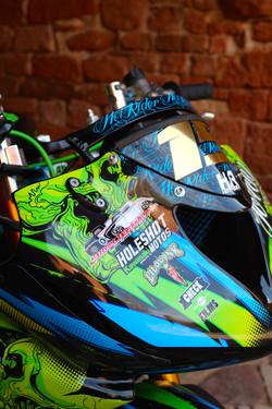 Kit déco perso moto Kawasaki 636