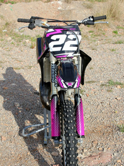 Kit déco perso 250 YZ