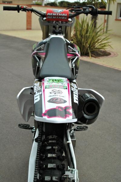 Kit déco perso motocross 250 RMZ