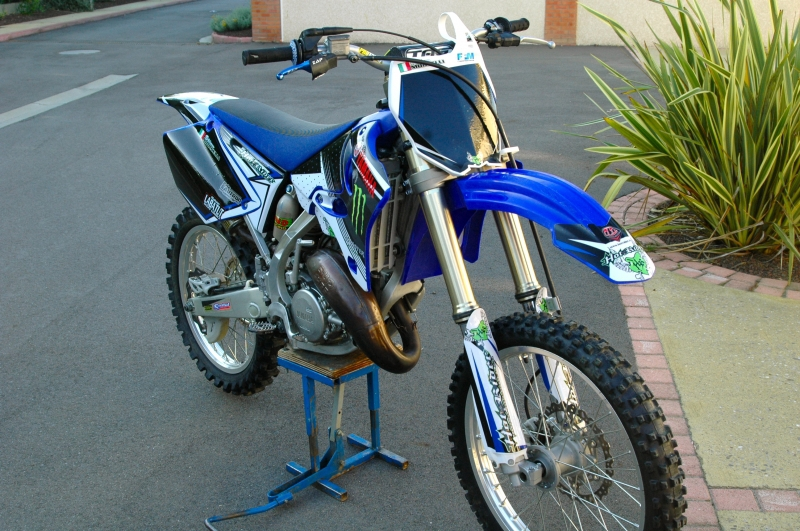 Kit déco perso motocross 125 YZ