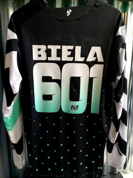 Flocage maillot personnalisé BIELA