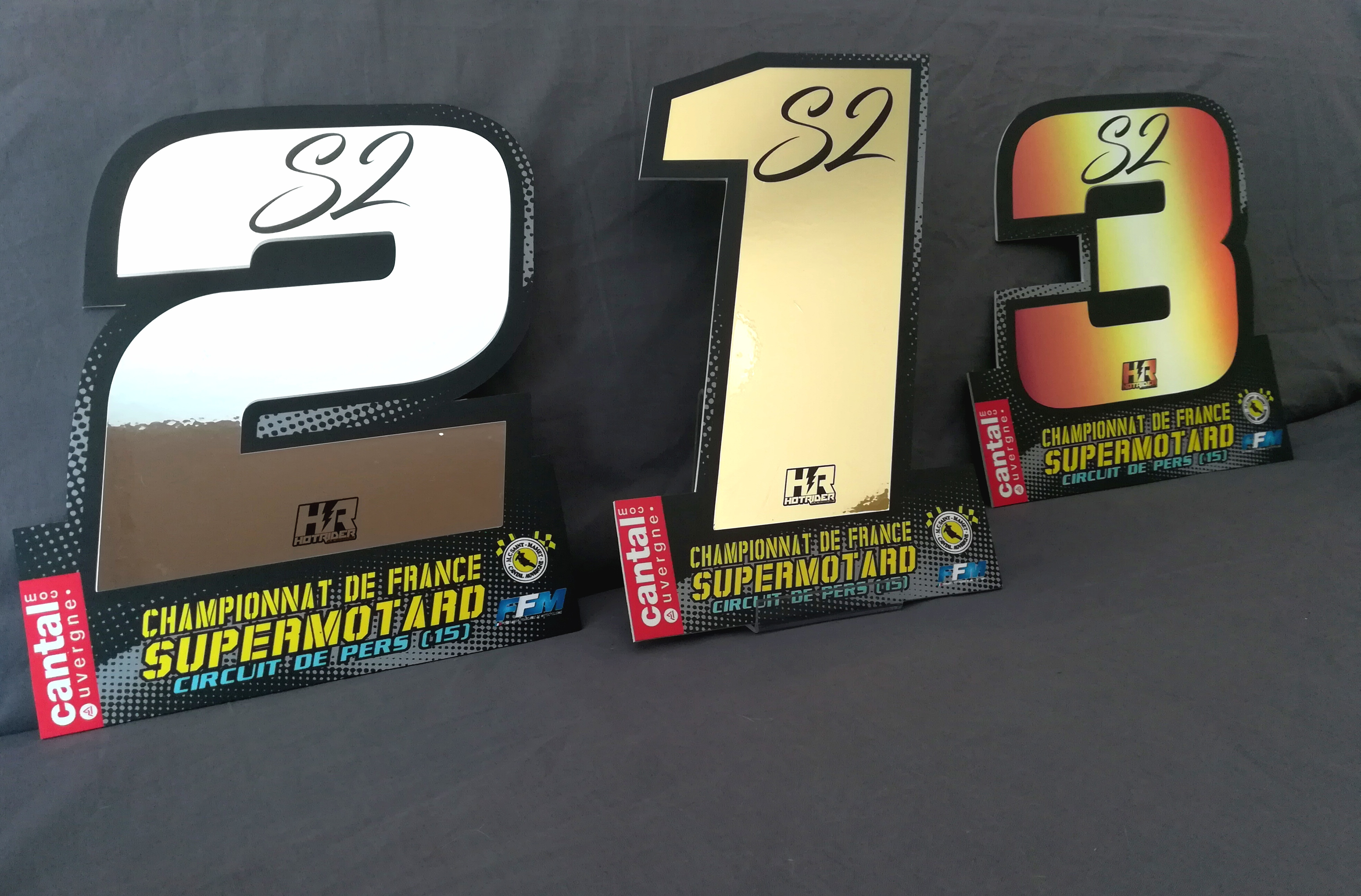 Trophées Supermotard