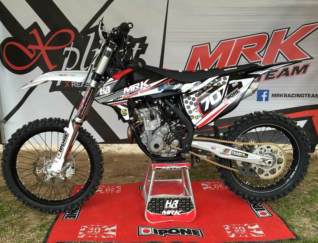 Kit déco moto MRK Racing Team