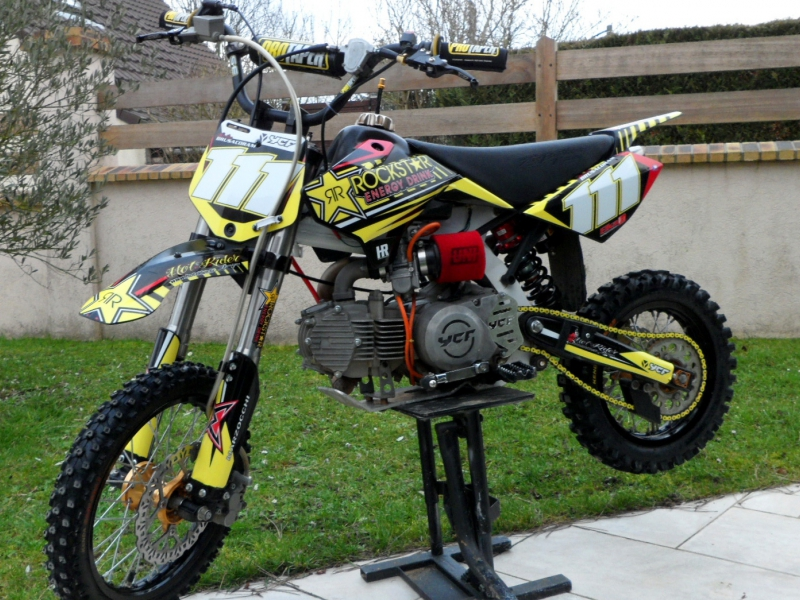 Kit déco perso pit bike : 150 YCF
