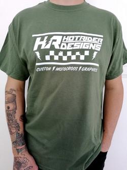 Tee-shirt olive Starter HotRider Designs