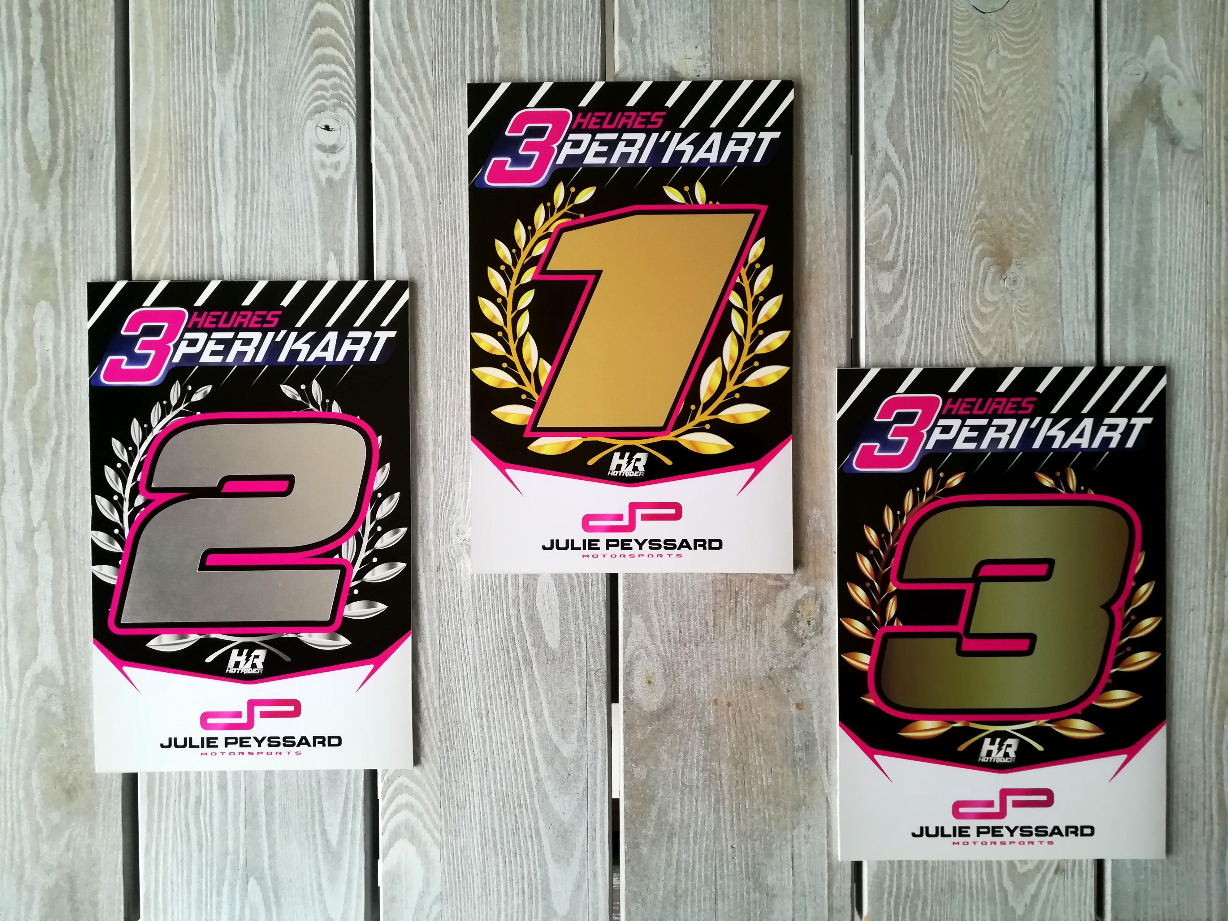 Trophées karting