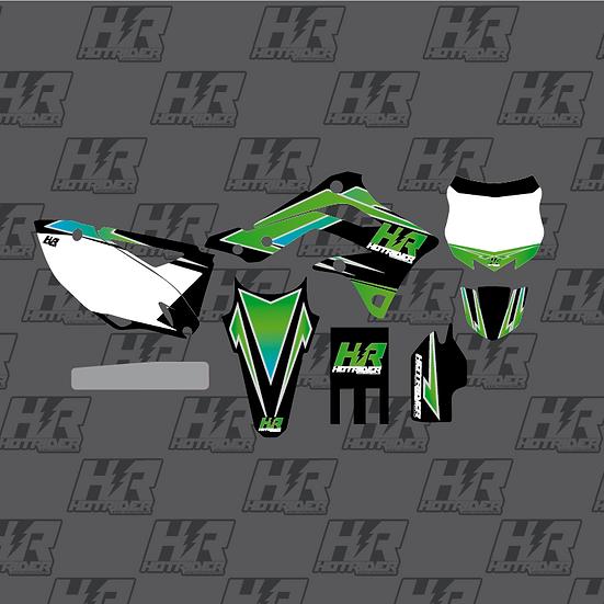 Kit déco Race vert