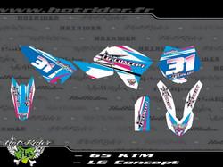 Kit déco perso 65 KTM