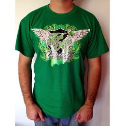 Tee-shirt vert Angel