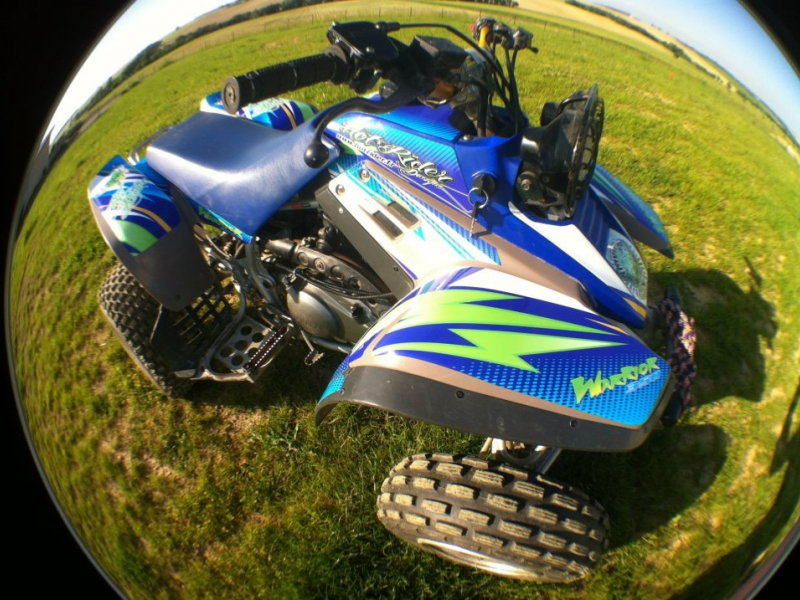 Kit déco perso quad 350 Warrior