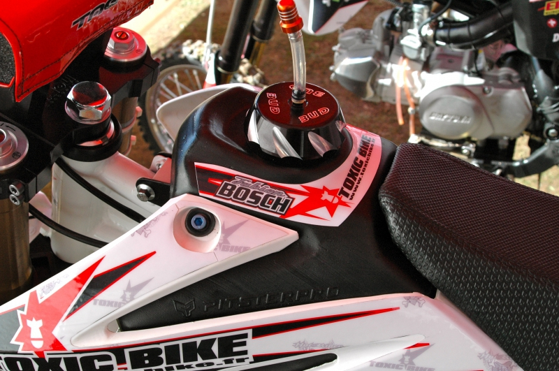 Kit déco perso pit bike