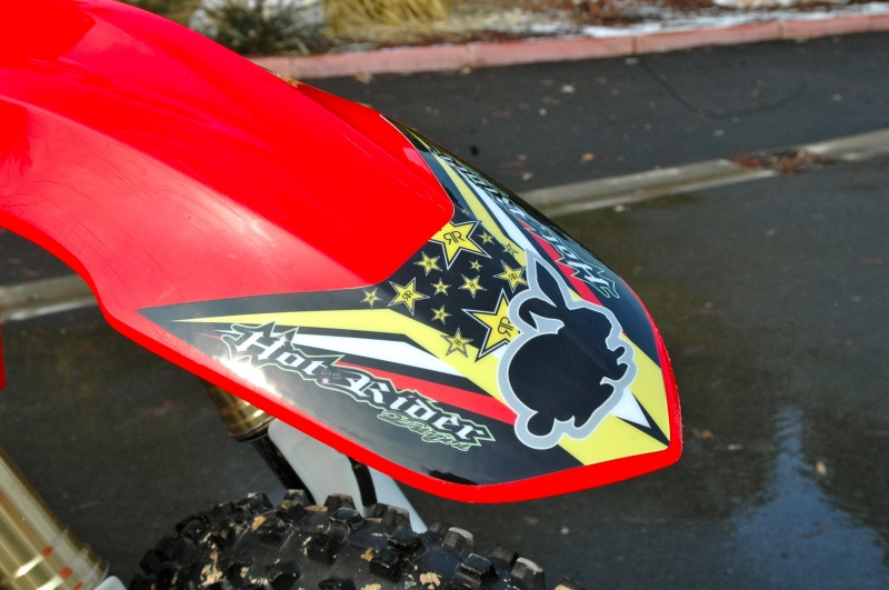 Kit déco perso motocross 250 CRF
