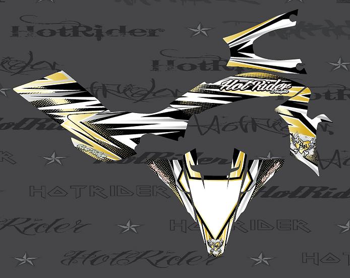 Kit déco quad Elite gold