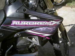 Kit déco perso motocross