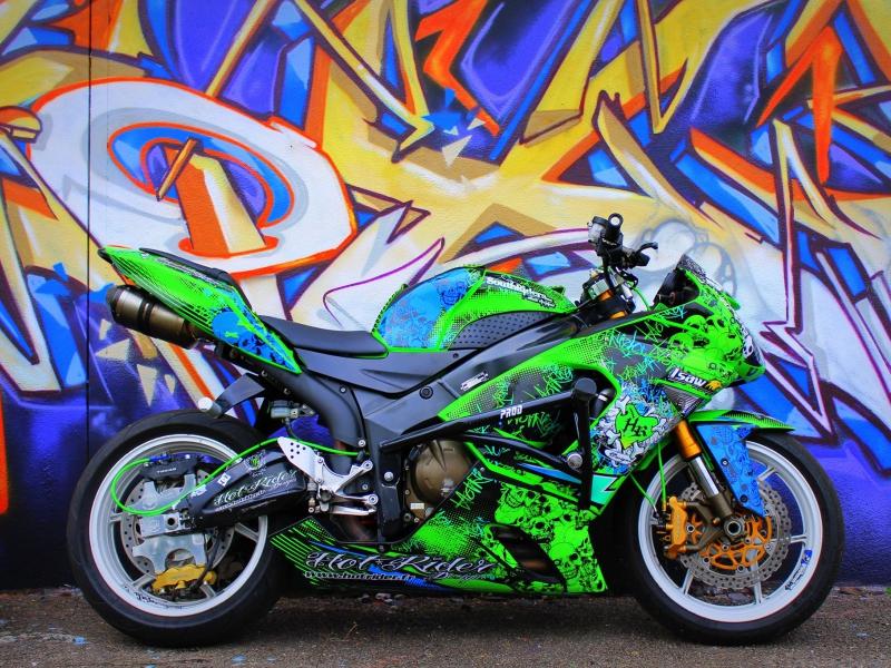 Kit déco perso Kawasaki 636