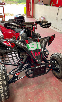 Kit déco perso quad Yamaha 450 YFZ-R