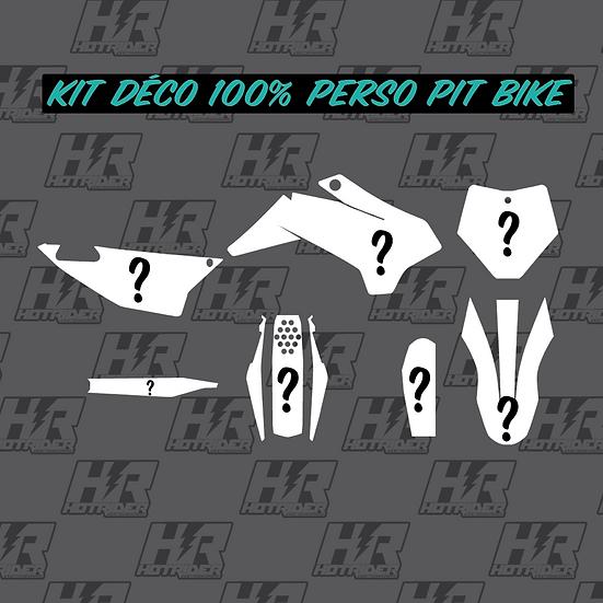 Kit déco 100% perso pit bike