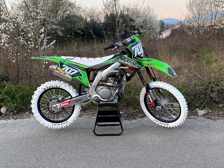 Kit déco moto replica Team MRK 21