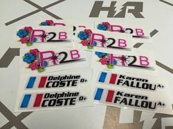 Stickers personnalisés
