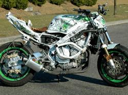 Kit déco perso moto 600 CBR