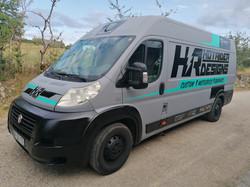 Déco camion HR personnalisée