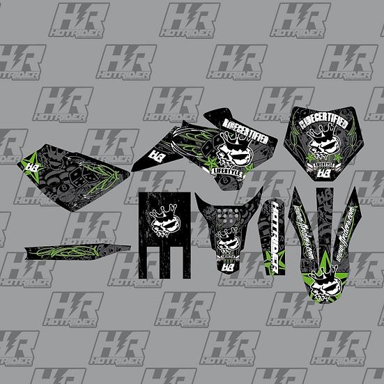 Kit déco FFR vintage vert