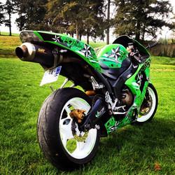 Kit déco perso moto 636