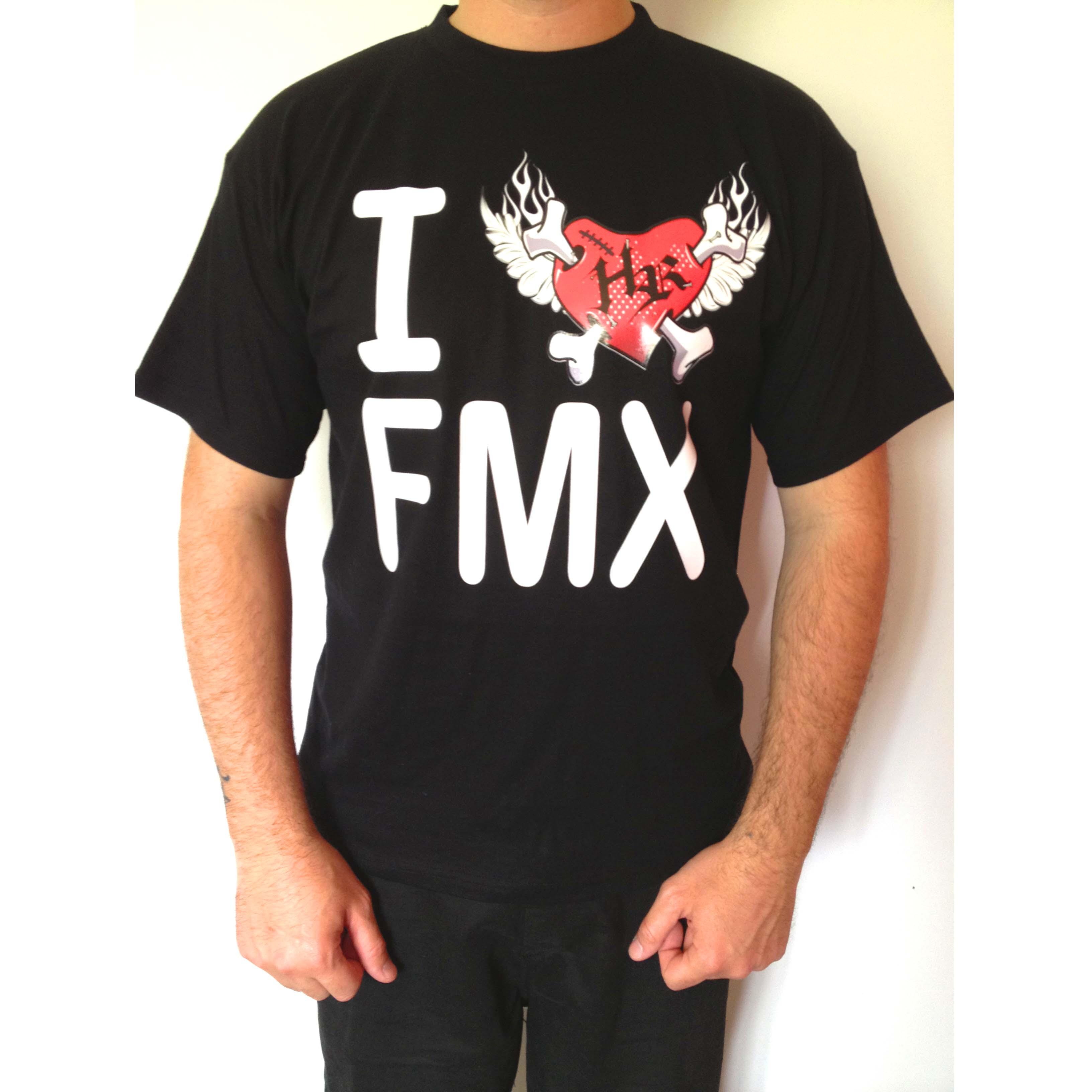 Tee-shirt noir ILoveFMX