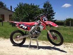 Kit déco perso 250 CRF