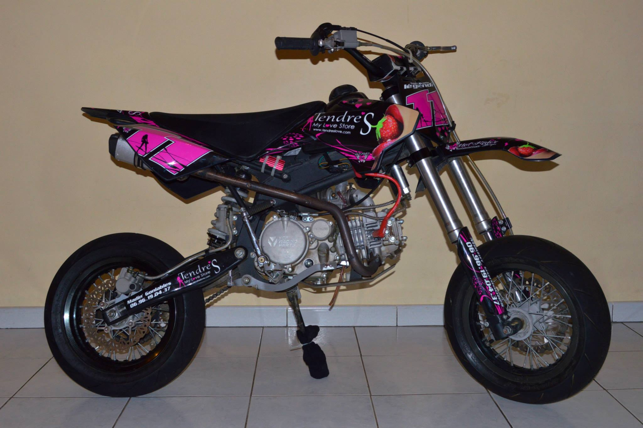 Kit déco perso pit bike : YCF
