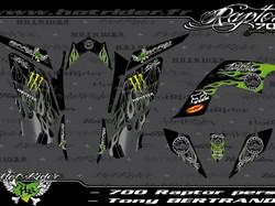 Kit déco perso quad 700 Raptor