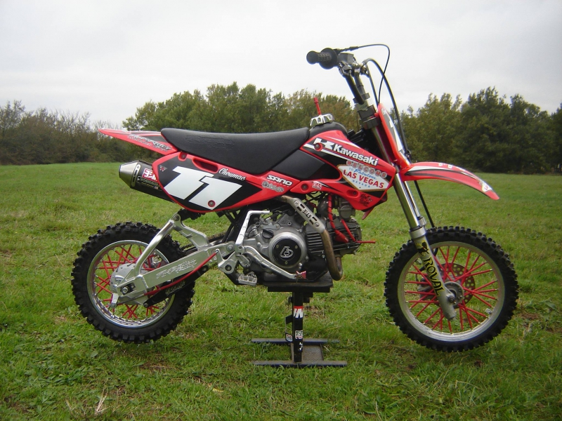 Kit déco perso pit bike : KLX