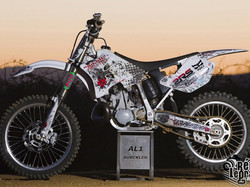 Kit déco perso motocross 250 YZ