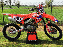 Kit déco perso moto CRF