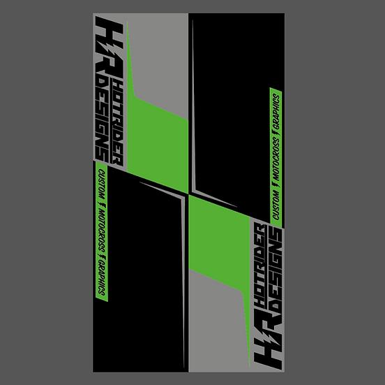 Tapis environnemental Team HR 21 vert