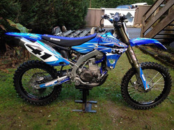 Kit déco perso 450 YZF