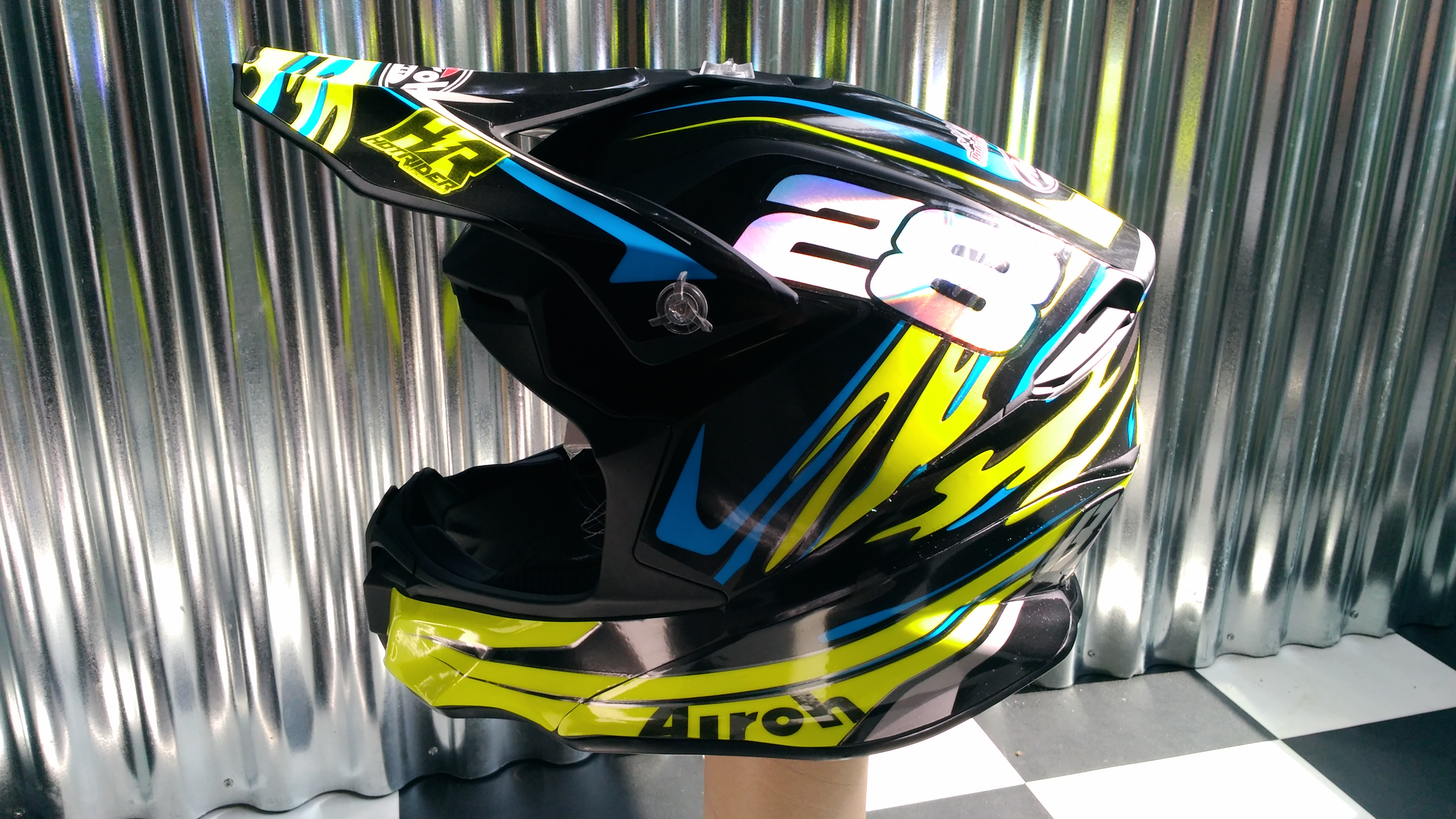 Kit déco perso casque AIROH