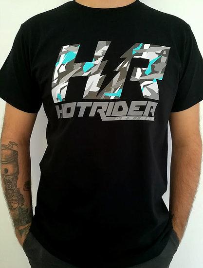 Tee-shirt noir HR Camonardo HotRider Designs
