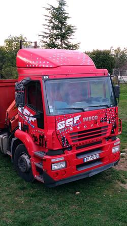 Déco camion personnalisée