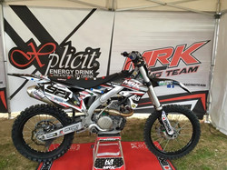 Kit déco moto MRK Racing Team