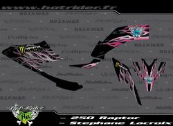 Kit déco perso quad 250 Raptor