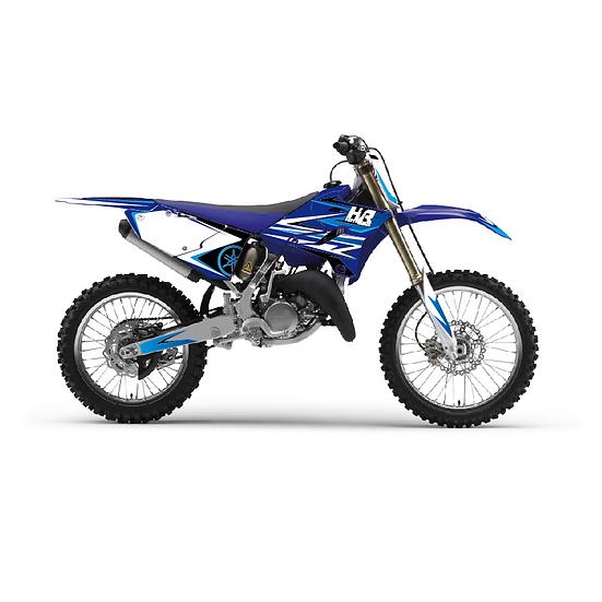 Kit déco moto Hint bleu
